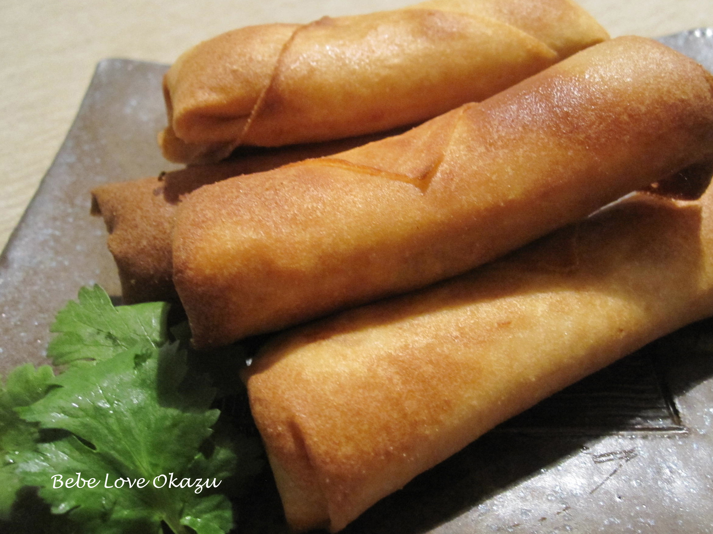 how to make egg roll wrappers