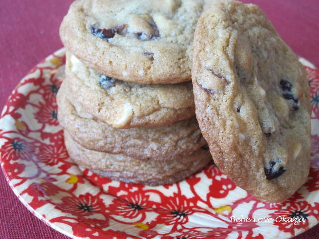 Cranberry White Chocolate Cookie - 2a