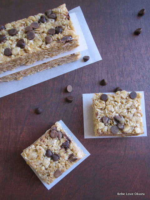 Chewy Chocolate Chip Granola Bar - 1
