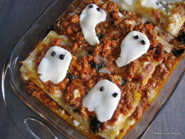 Ghostly Lasagna - 1