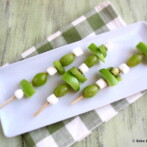 2014 Happy St. Patrick's Day! Green Fruit Kabobs