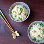 Mame Gohan (Brown Rice with Green Peas)