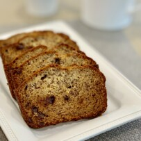 Banana Bread Recipe with Choco Chips from Georgia