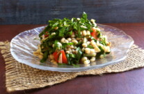 Barley and Spinach Salad & Mothers Day 2014