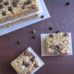 Chewy Chocolate Chip Granola Bars (No Bake)