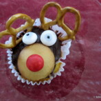 Merry Christmas! and Reindeer Cupcakes