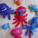 Sea Animal Friends; Crafting not for Eating