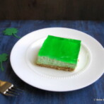 Green Dessert for St. Patricks Day & Shamrock Craft